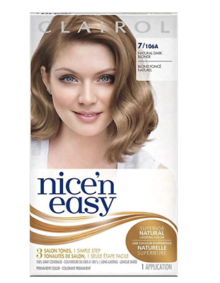 Clairol Nice N Easy Natural Dark Blonde 7 106a Permanent Hair Color Dye 381519900075 Ebay