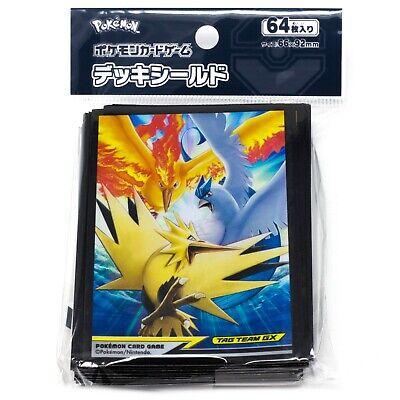 Pokemon TCG Japanese Tapu Koko Lele Fini Bulu 64 Card Sleeves Deck Protectors
