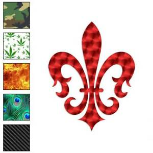 Fleur-De-Lis-Art-Decal-Sticker-Choose-Pattern-Size-864