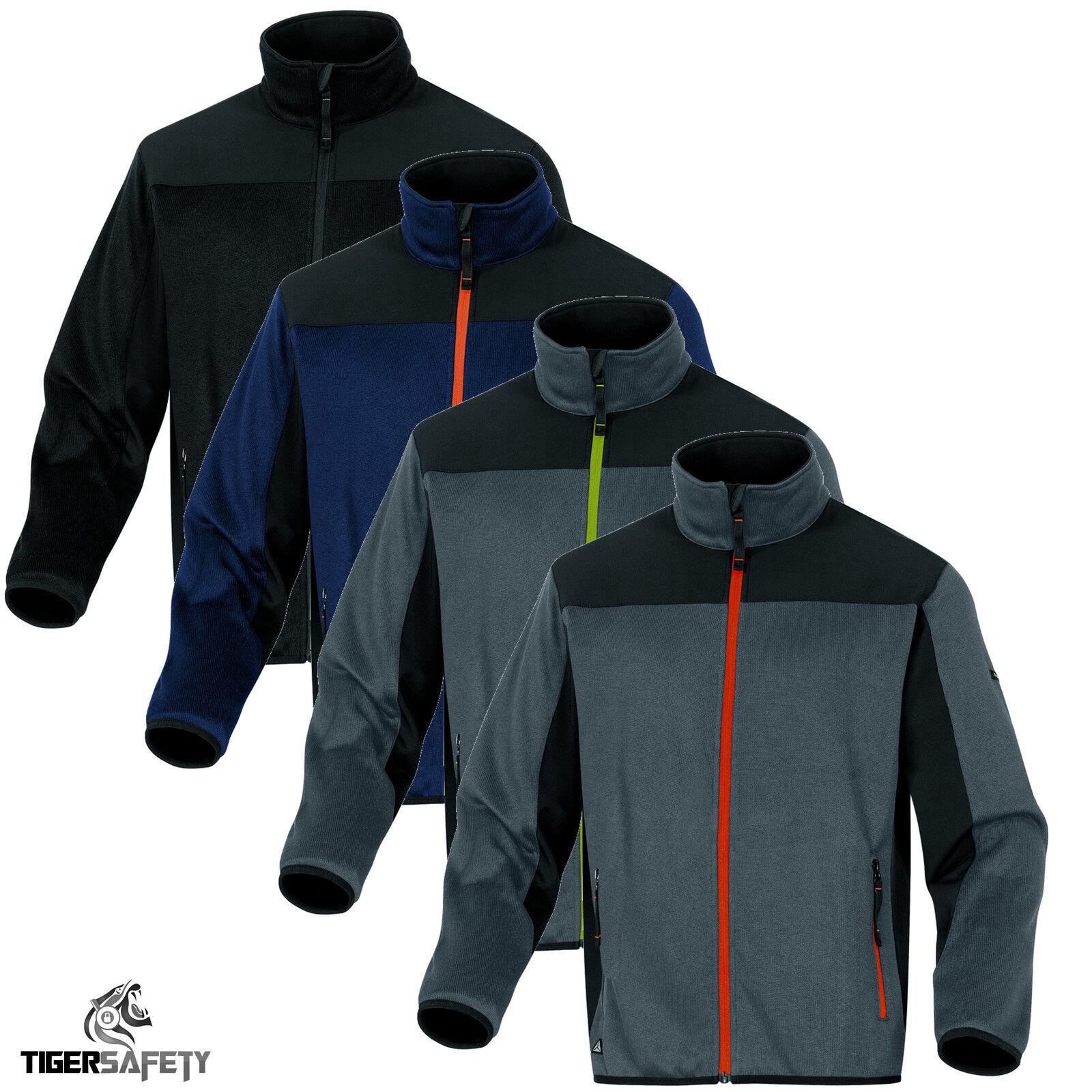 Delta Plus Panoply Biber gestrickt Polyester strickjacke softshell jacke mantel
