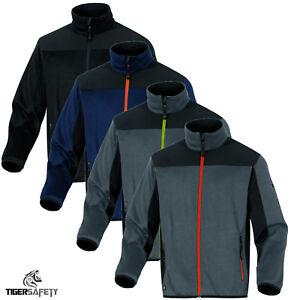 Delta-Plus-Panoply-Castor-tricote-poyester-Cardigan-Veste-Softshell-manteau