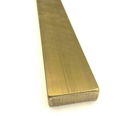 1/'/' Brass Square Bar C360 x12/""