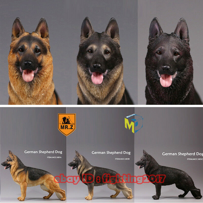 Mr.Z 1 6 MRZ German Shepherd Dog Figure Animal Model Dogs Collect Body Armor Set