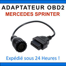 Adaptateur OBD2 vers MERCEDES BENZ SPRINTER - DIAG Auto - STAR MB