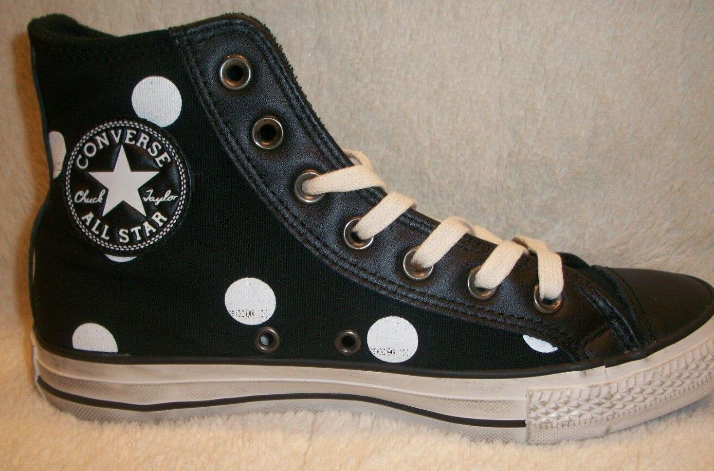 Converse CTAS 1464Print Hi Black/White Dots Men's Size 5.5 - Women's Size 7.5