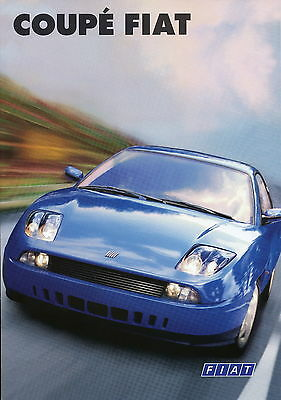 Aggressiv Fiat Coupé Prospekt 1997 2/97 Autoprospekt Auto Brochure 1.8 16v 2.0 20v Turbo Ausgezeichnet Im Kisseneffekt