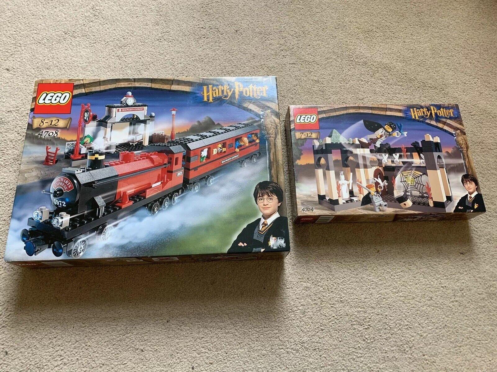 Lego Harry Potter 4704 4708 Nuevo