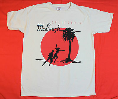 MR BUNGLE CALIFORNIA MIKE PATTON FANTOMAS TOMAHAWK FNM NEW NATURAL COLOR T-SHIRT