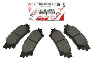 2010-2015 RX350 RX450h Genuine Toyota Premium Ceramic REAR Brakes 04466-AZ109