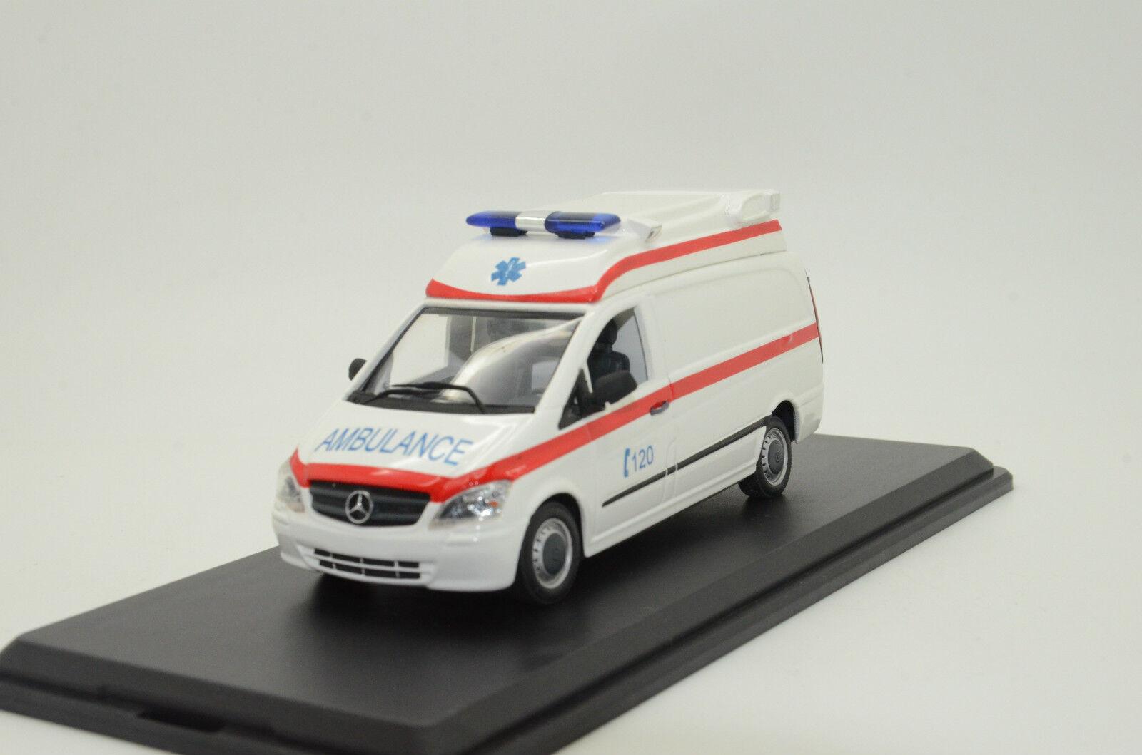 Rara Mercedes Vito ambulancia blancooo Hecho a Medida 1 43