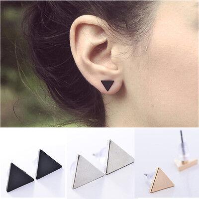 Women Punk Style Simple Triangle Earring Street Style Ear Stud Earrings Cute New