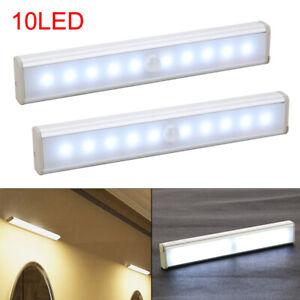 2-PCS-Motion-Sensor-Cabinet-LED-Lights-Battery-PIR-Wardrobe-Cupboard-Light-UK
