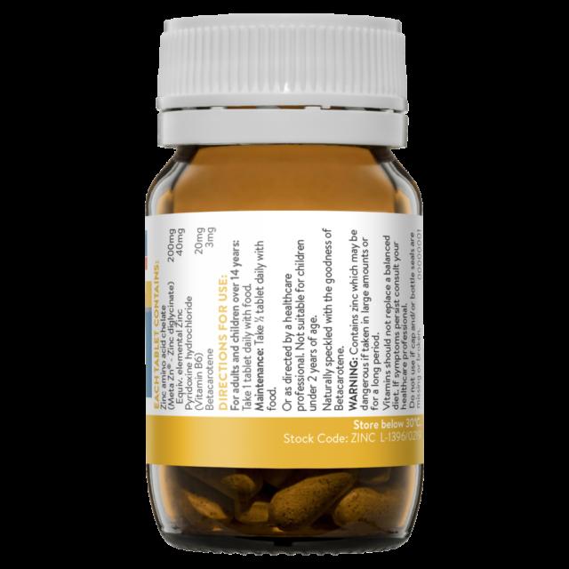 Ethical Nutrients MEGAZORB Mega Zinc 40mg 60 Tablets   Mysite