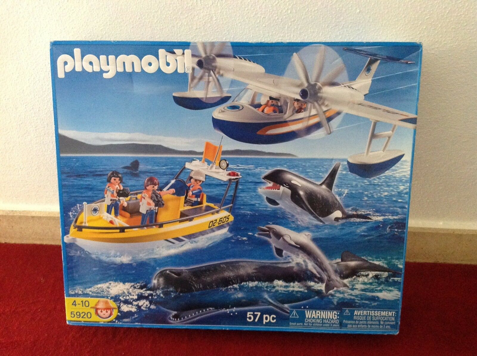 Playmobil 5920 Walbeobachtung Whale Waschung Meeres Expedition NEU  OVP