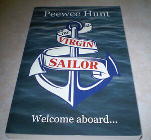 AS-NEW-PEEWEE-HUNT-THE-VIRGIN-SAILOR-SC-BOOK-WELCOME-ABOARD