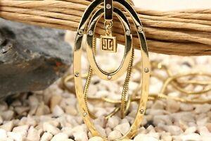 JETTE JOOP Diamant Gold 750 Collier 18K Gelbgold Länge 42cm 12 Brillanten 0,06ct