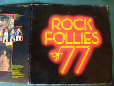 ANDY MACKAY : ROCK FOLLIES OF 77 - LP EG POLYDOR 2302 072 GATEFOLD + LYRICS