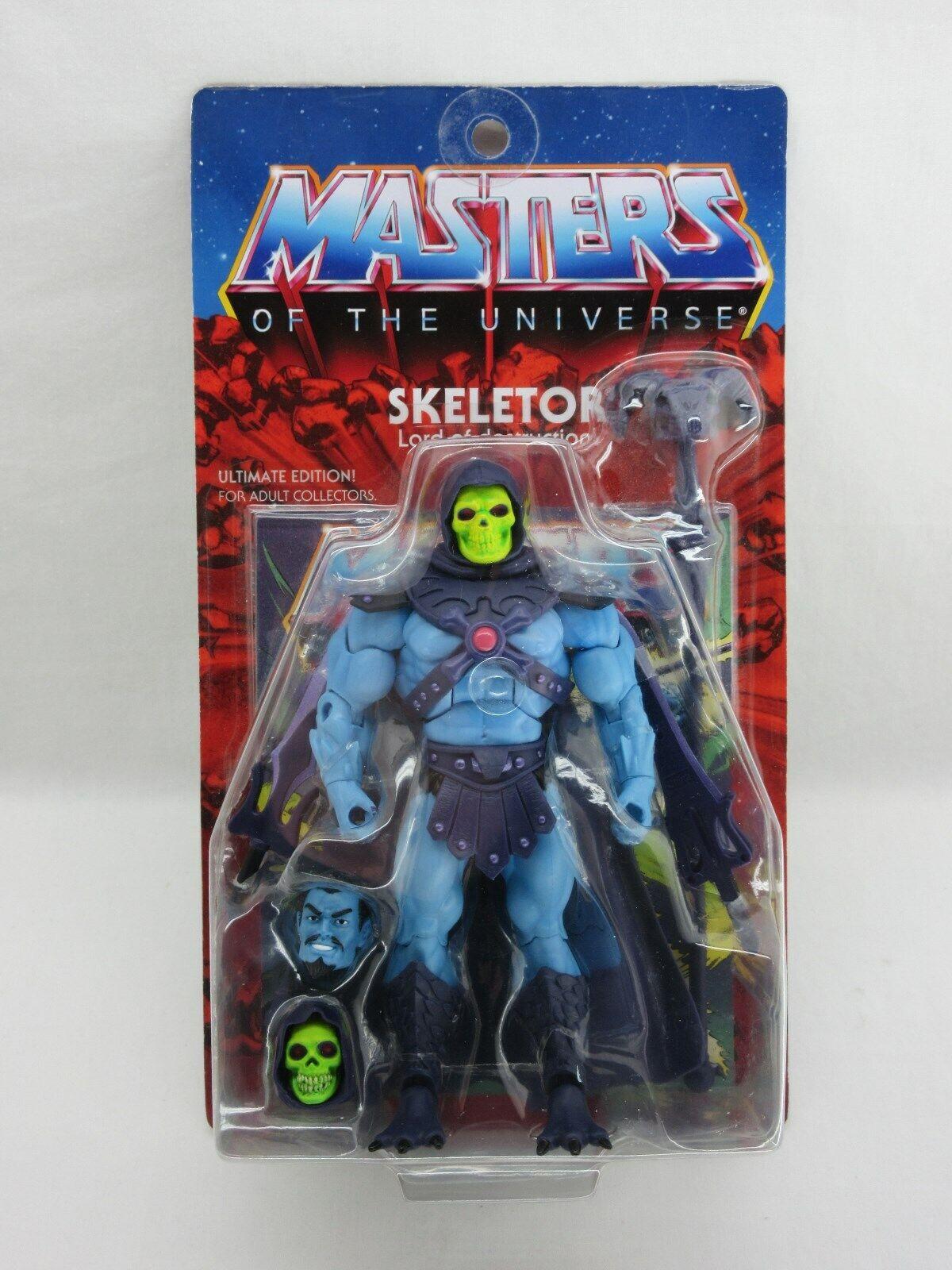 MOTU,MOTUC,ULTIMATES SKELETOR,MASTERS OF UNIVERSE CLASSICS,HE-MAN,Sealed,MOC