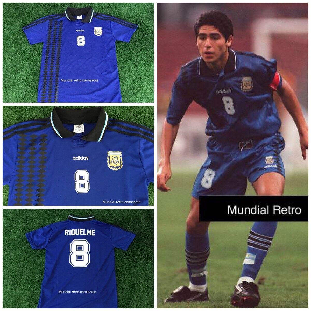 Riquelme argentooina world cup Malaysia 1997 jersey maglia camiseta replica