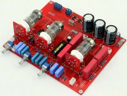 Assembled Tube 6N1 tone Pre-amplifier board volume adjusted