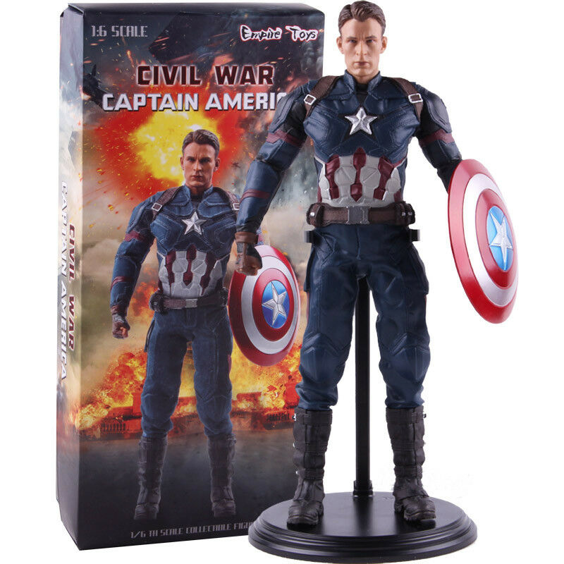Captain America Civil War Empire Spielzeugs PVC Wirkung Figure Collectible Modell Spielzeug