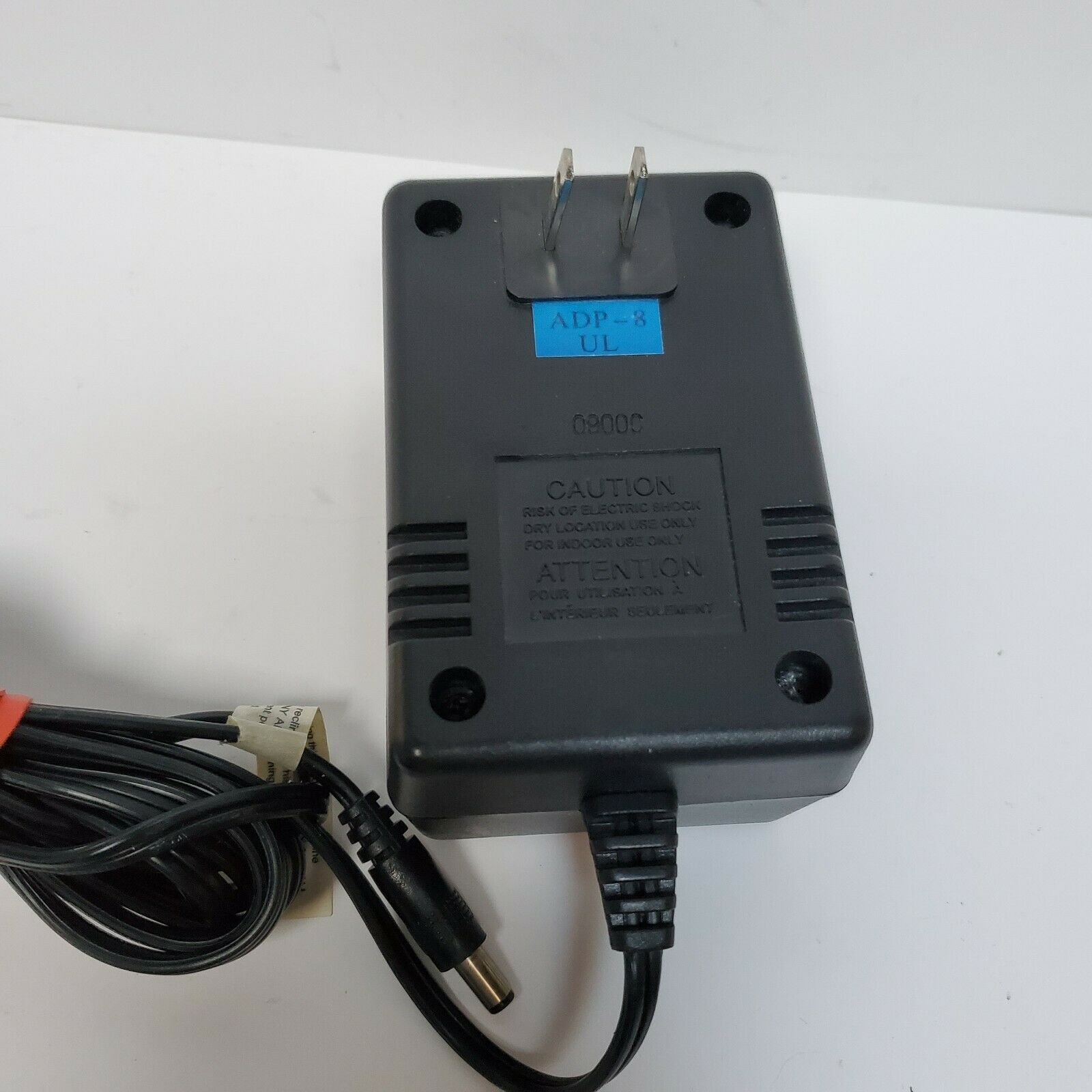 Homedics ADP-8 AC-DC Adaptor Power Supply Output 12V DC 1.6 Class 2 Transformer