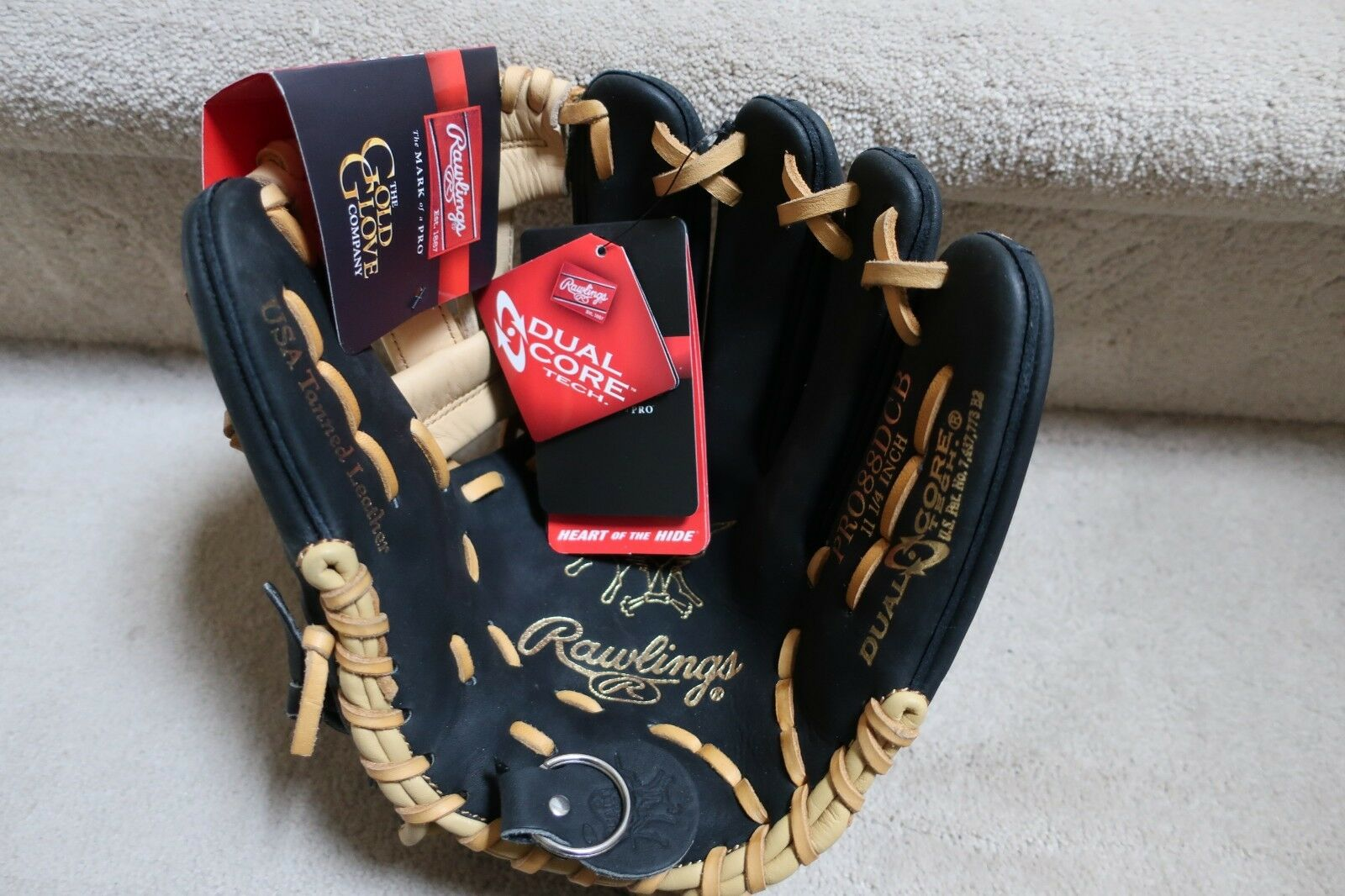 Rawlings Heart of the Hide NWT 11 1 4  RHT PRO88DCB USA Tanned Leather
