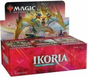 Ikoria-Lair-of-Behemoths-JAPANESE-JPN-Booster-Box-36-Packs-NEW-SEALED-MTG