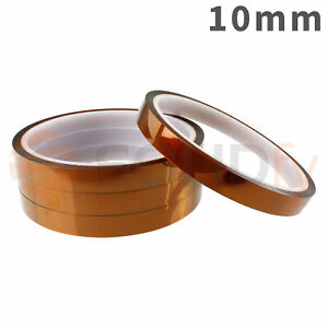 10mm-Polyimide-Tape-Hitzebestaendiges-Klebeband-Polyimid-Kapton-3D-Drucker-33m