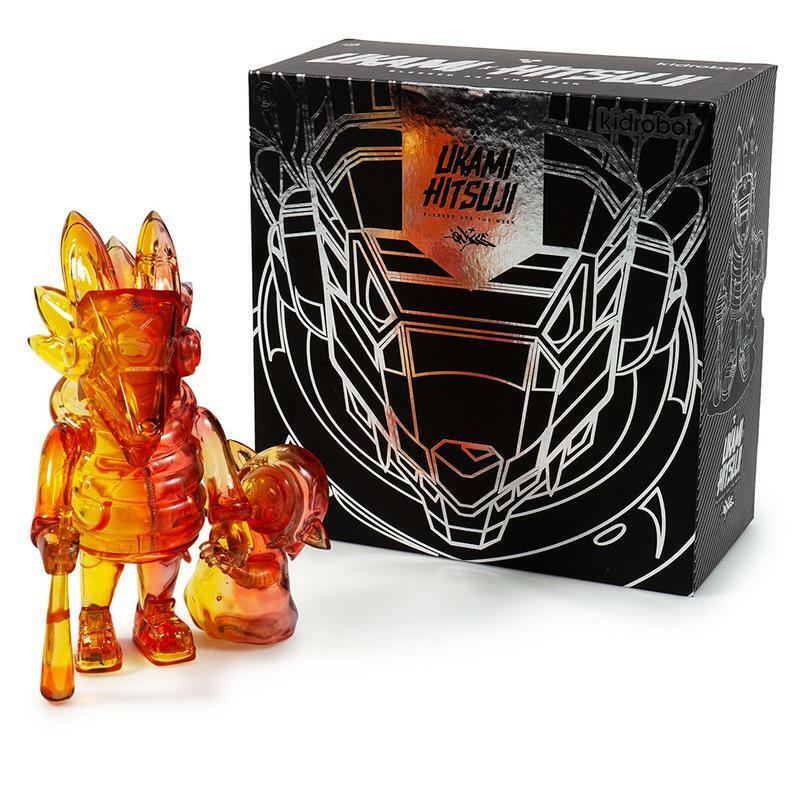 UKAMI + HITSUJI TRANSPARENT SUNSET ART FIGURE - DEATH COLORWAY EDITION (ON HAND)