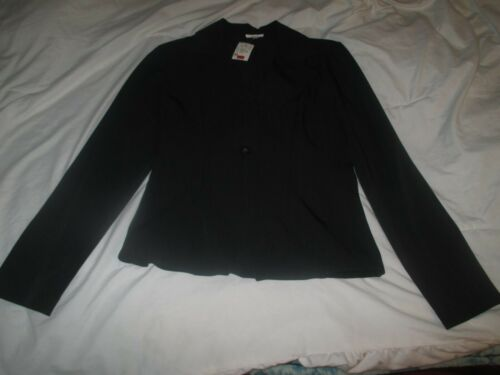 Charlotte Russe Black One Button Blazer Size M NWT