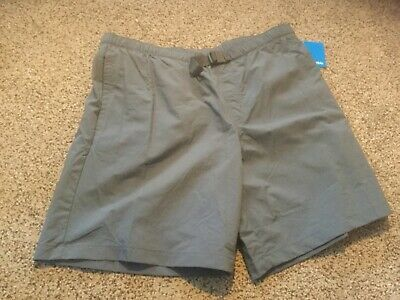 OMNI-SHADE NEW WITH TAGS LARGE! TAN COLUMBIA MEN/'S SHORTS FLATWATER RUN