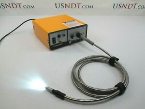 Details about Everest ELSV-60 Optic Light Source Rigid Borescope Video NDT  Flaw Iplex Olympus