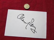 Alan PARRY  Sky  Sports  Reporter  original hand signed white card