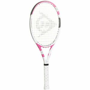 "Brand New $160 Dunlop Lady M-Fil 4 1/2"" Tennis Racquet with Cover Bag - Prestrun"