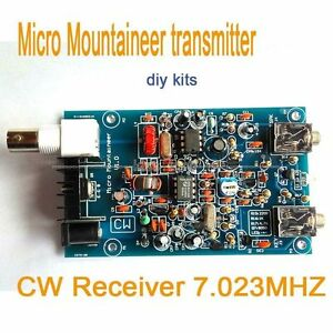 Micro-Mountaineer-Transmitter-Receiver-CW-Ham-Amateur-Shortwave-HF-Radio-diy-kit
