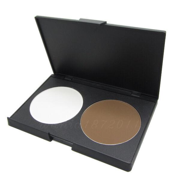 Fashion Women Makeup Cosmetic Contour Shading Concealer Powder Palette 2 Colors