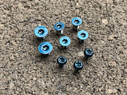 Blue Pivot Scale /& Clip Screws for Spyderco Paramilitary 2-9pcs Candy Blue