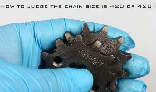 420  CHAIN 13T FRONT ENGINE SPROCKET DIRT BIKE ROKETA COOLSTER SSR SDG DIRT BIKE