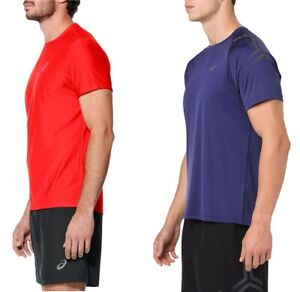 Details about Shirt T-Shirt Running Essentials Tee Asics Motion Dry Reflective Breathable- show original title