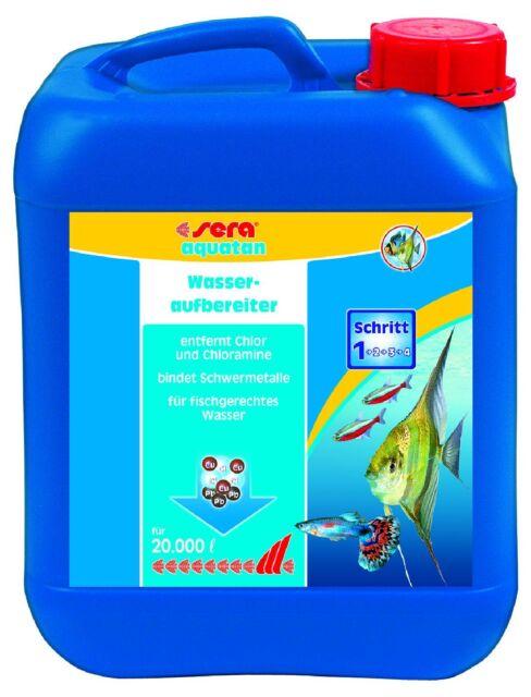 Sera Aquatan 5000 Ml Water Treatment for Sweet and Saltwater