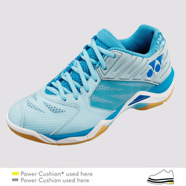 Yonex comodidad Z Mujeres (azul pálido) Badminton Zapatos