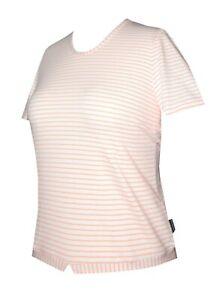 Schneider Sportswear Damen Shirt T-Shirt Pulli Kurzarmshirt Gr. 40 weiß orange