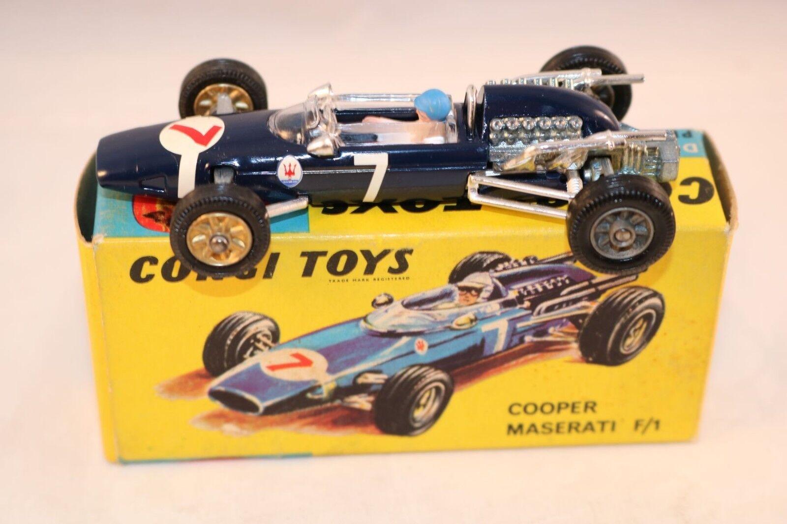 Corgi 156 Cooper Maserati F1 tävlings bil Absolut Suberb - Sällsynta See hjuls