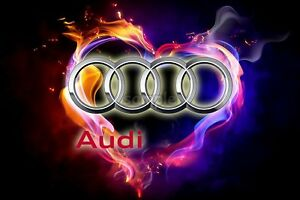Audi-Zubehoer-Essbar-Tortenaufleger-NEU-Party-Deko-Geburtstag-Auto-Tortenbild