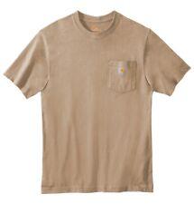Carhartt Mens T-shirt WorkWear K87 Pocket Basic Heavyweight Jersey Knit Top Tee