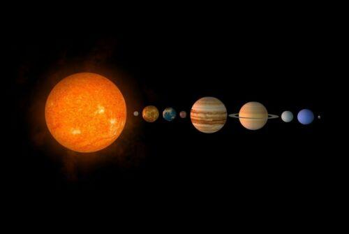 Solar System NASA Astronomy HD POSTER