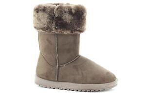 Ch de glacᄄᆭe neige Dᄄᆭcontractᄄᆭs Femme taigne Chaude Hiver Cheveux classiques confortables Bottes DHe2IYWE9