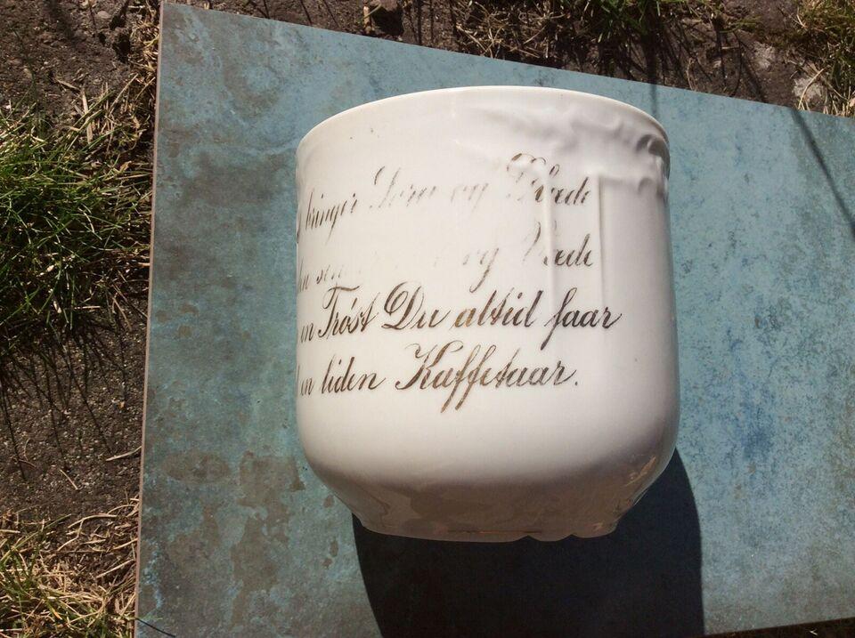 Porcelæn, Kaffekop, Ukendt