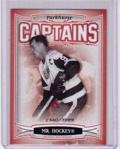 GORDIE-HOWE-MR-HOCKEY-06-07-Parkhurst-CAPTAINS-Insert-Card-179-Red-Wings-3999